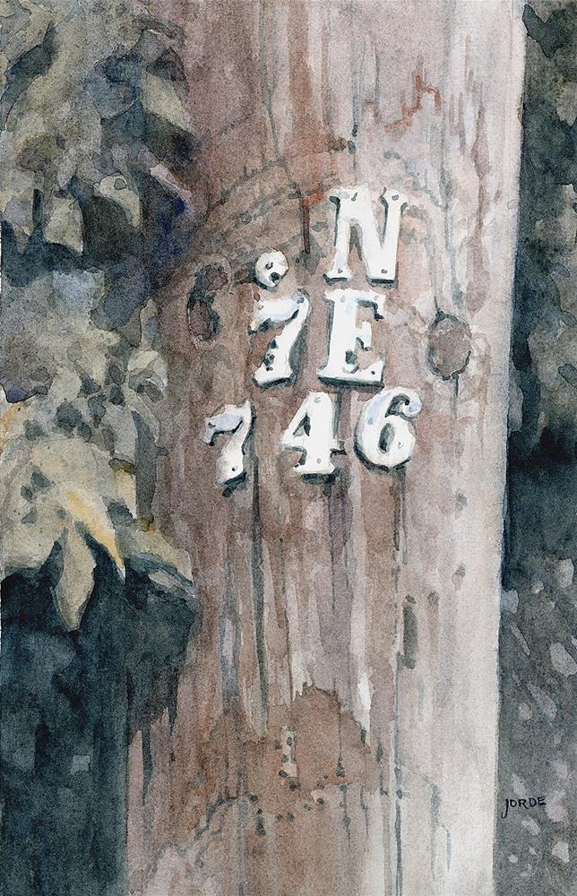 """L'axe Central"" original fine art by Robyn Jorde"