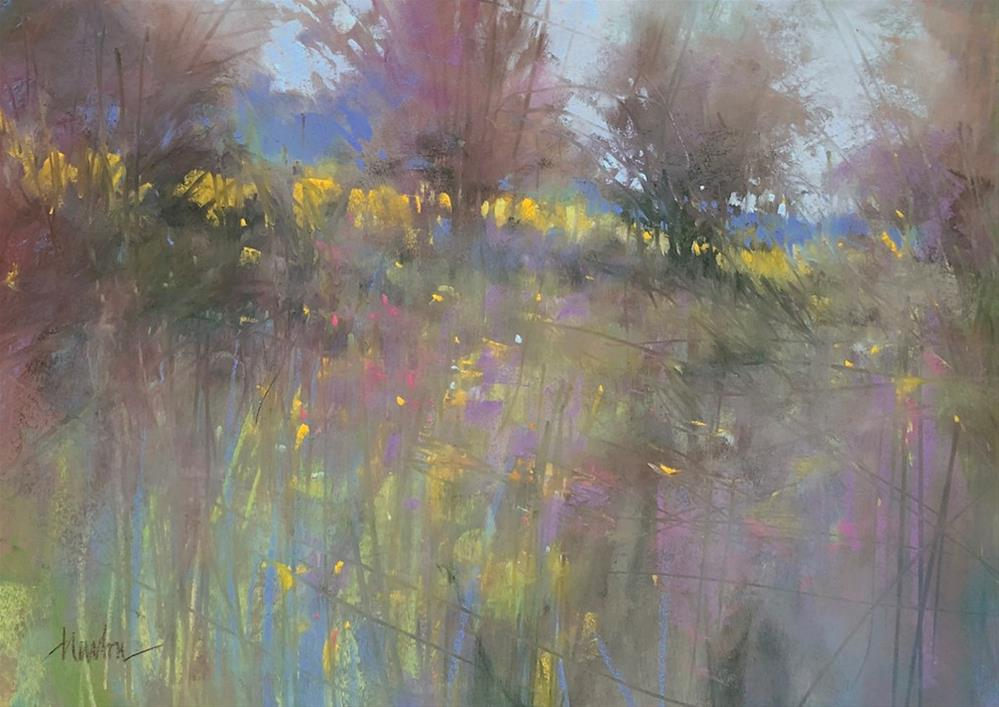 """Untitled (Spring)"" original fine art by Barbara Benedetti Newton"