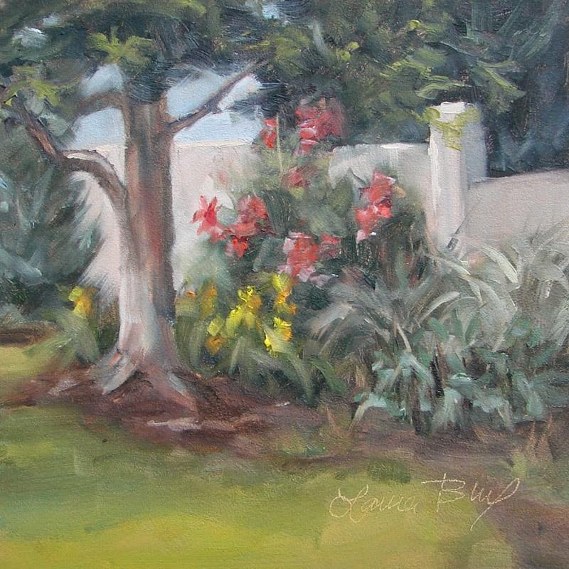 """My Backyard 241"" original fine art by Laura  Buxo"