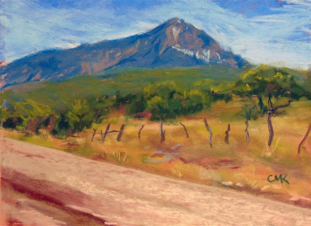 """A dirt road in Colorado"" original fine art by Catherine Kauffman"