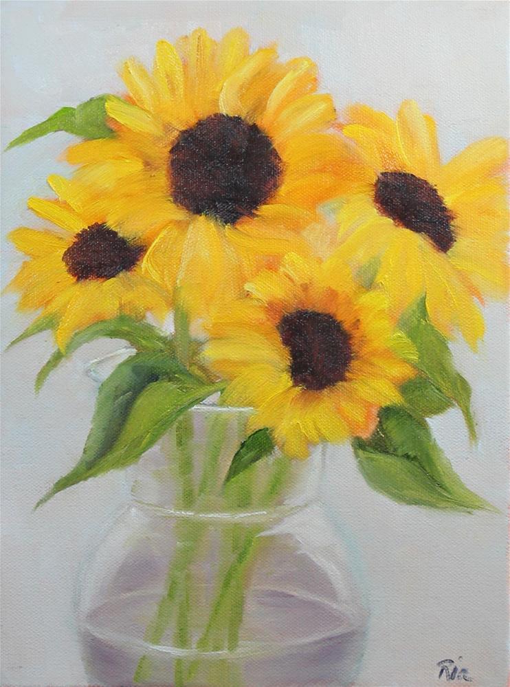 """""""Tuscan Sun II"""" original fine art by Maria Reed"""