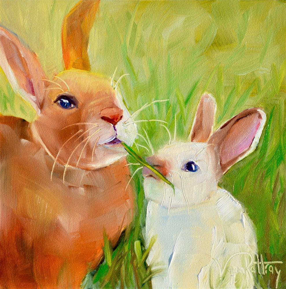 """""""Munchies"""" original fine art by Lynn Rattray"""