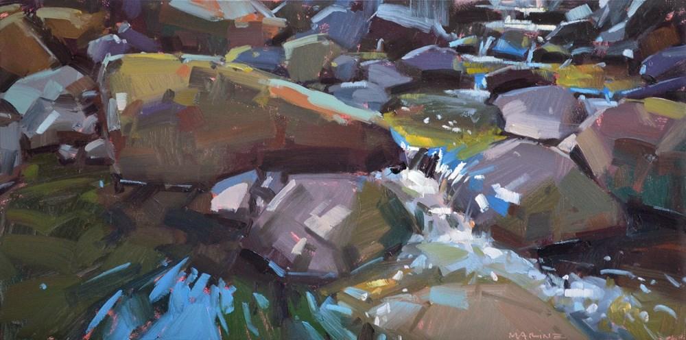 """In the Flow"" original fine art by Carol Marine"