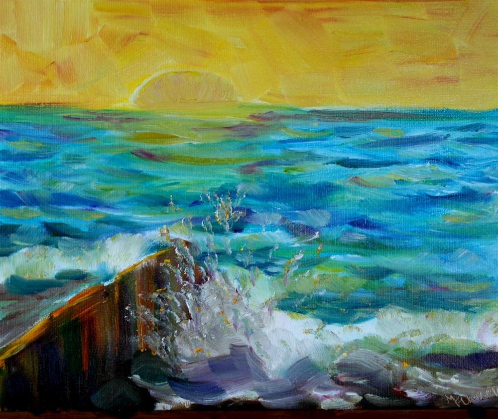 """""""The Color Yellow"""" original fine art by Maggie Flatley"""