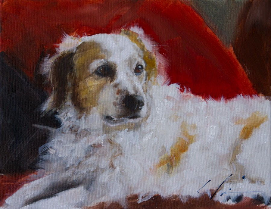"""Lily"" original fine art by Clair Hartmann"