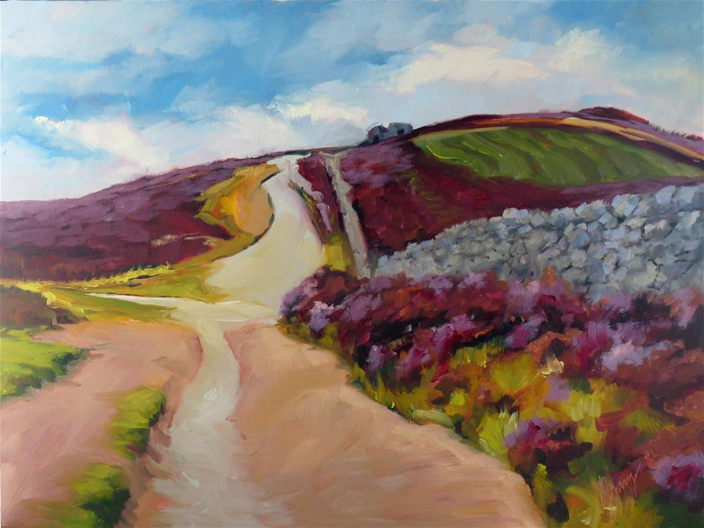 """Crossroads"" original fine art by Sharman Owings"