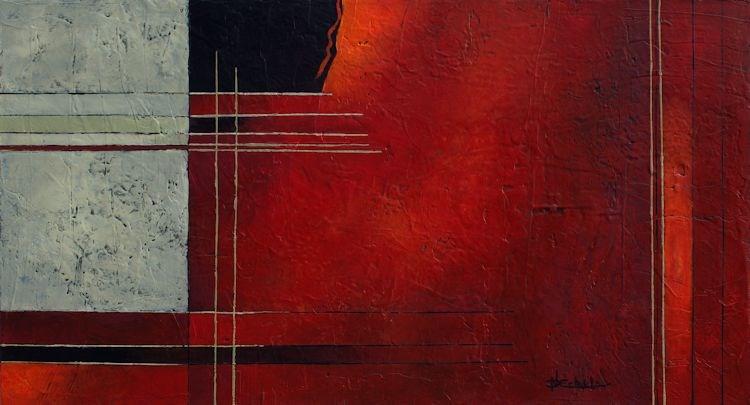 """""""It's A Red Day"""" original fine art by Nancy Eckels"""