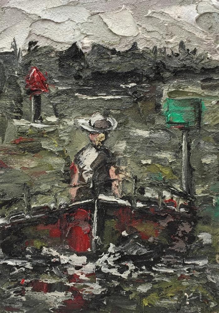 """Red Right Return II"" original fine art by Ken Fraser"
