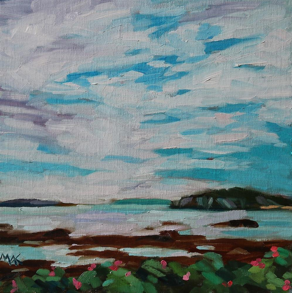 """""""Whitehead"""" original fine art by Mary Anne Cary"""