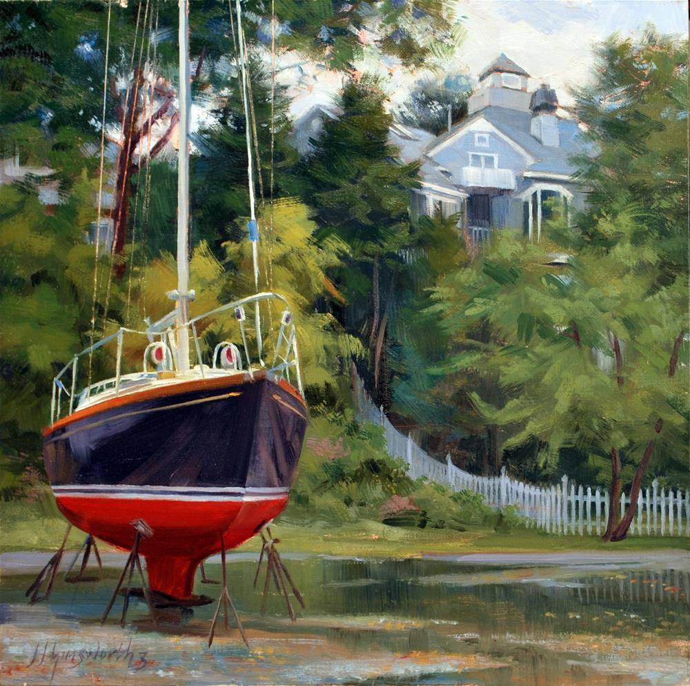 """""""Ready and Willing"""" original fine art by Jim Himsworth"""