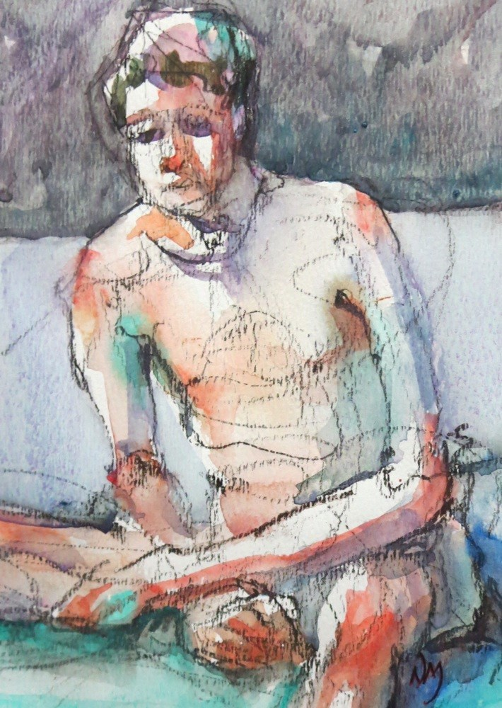 """maybe"" original fine art by Nora MacPhail"