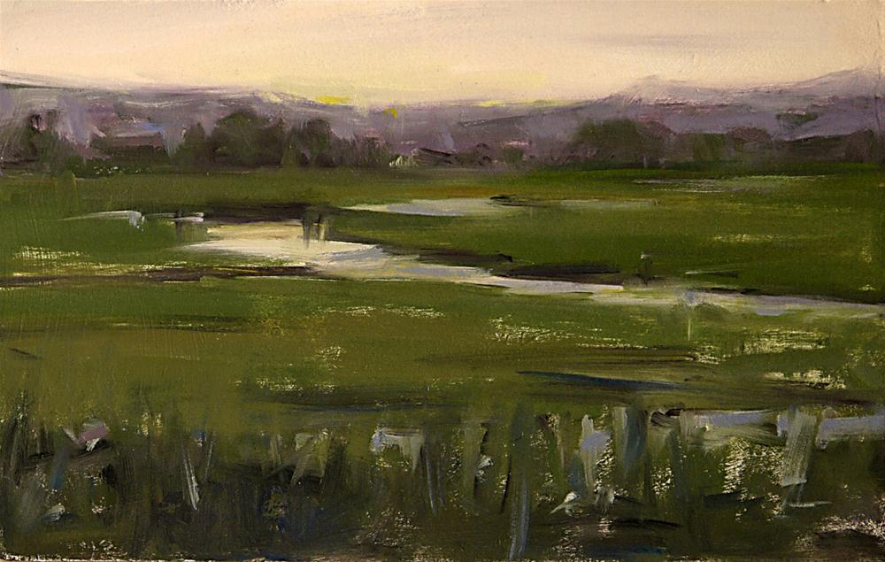 """""""Late Afternoon"""" original fine art by Mike Peterson"""