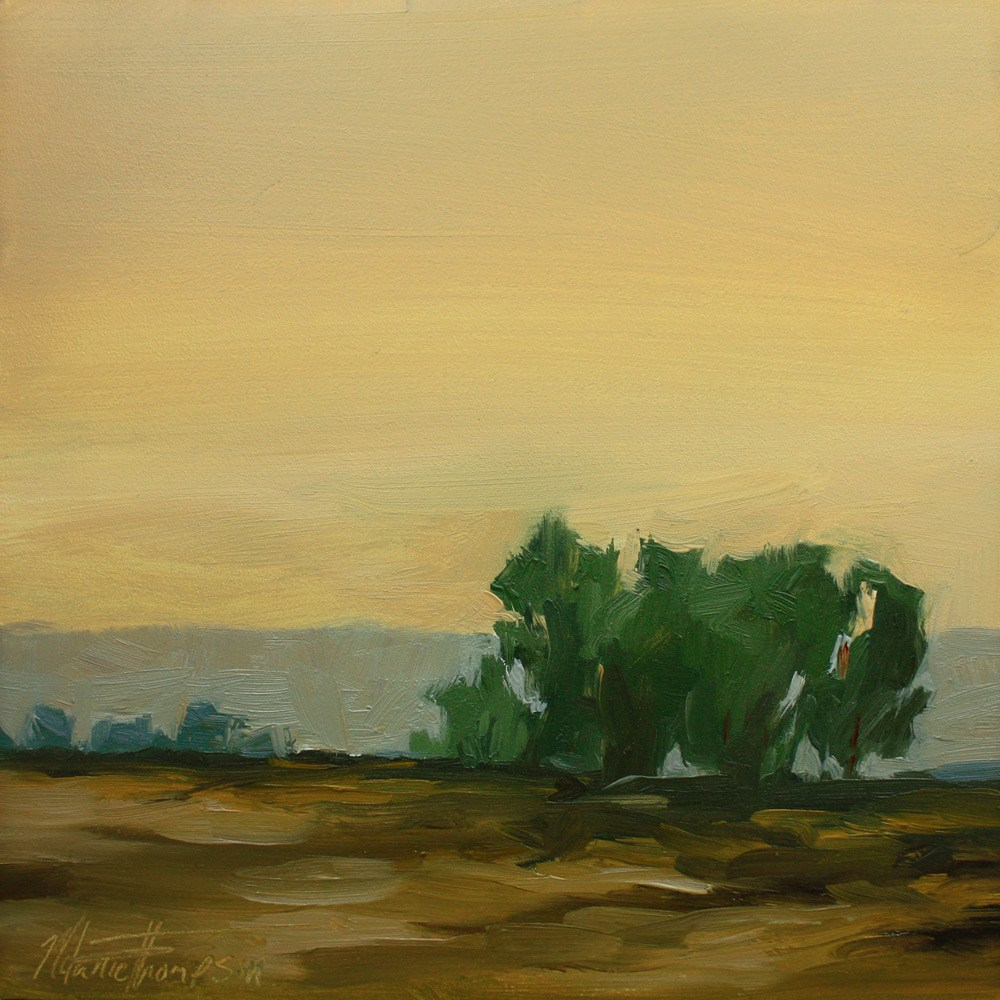 """Pastoral Reverie II"" original fine art by Melanie Thompson"