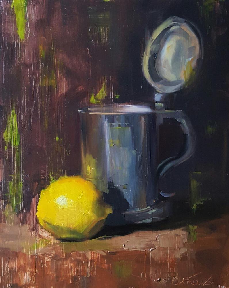 """""""Lemon Brew"""" original fine art by Cory Proulx"""