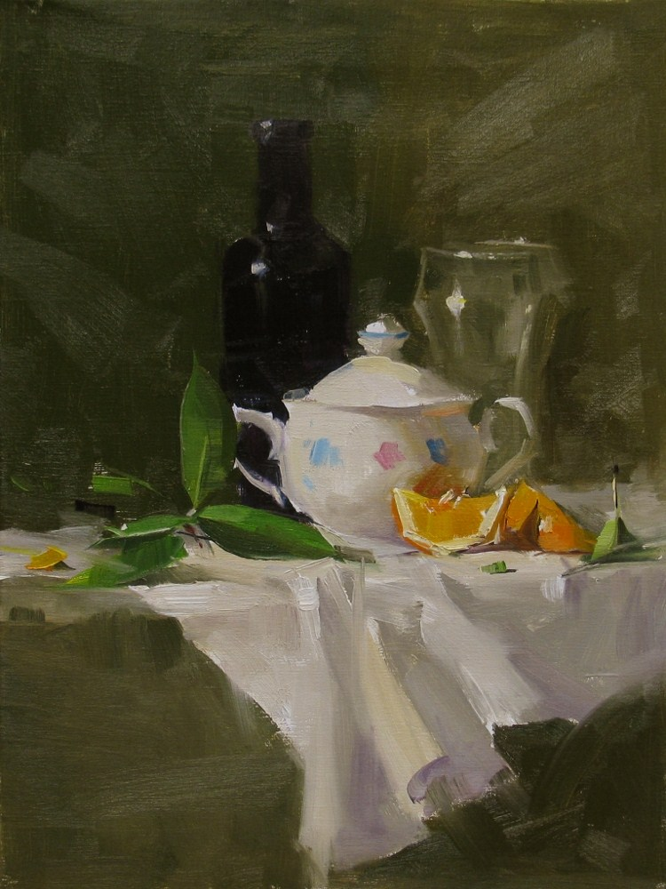 """Qiang's Super Sugar Bowl"" original fine art by Qiang Huang"