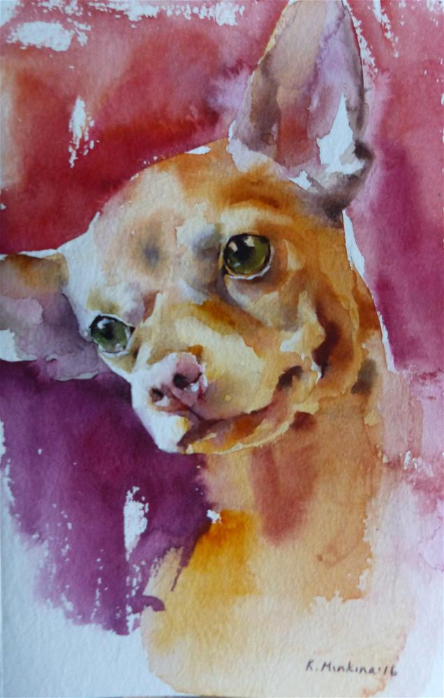 """adopt212"" original fine art by Katya Minkina"