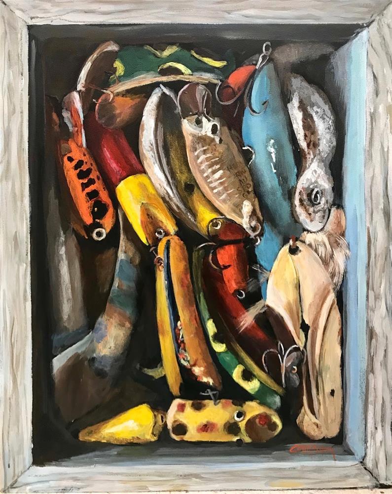"""940 Lured In"" original fine art by Diane Campion"
