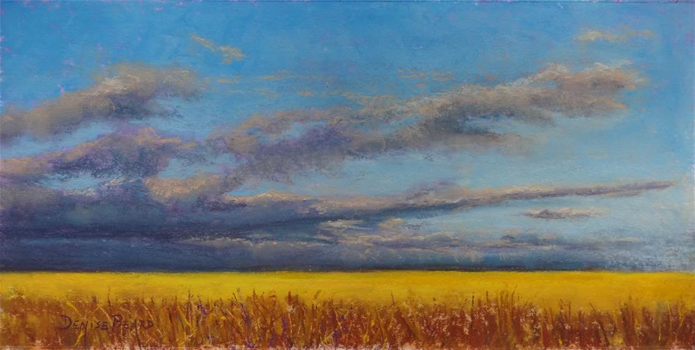 """Storm on the Plains"" original fine art by Denise Beard"
