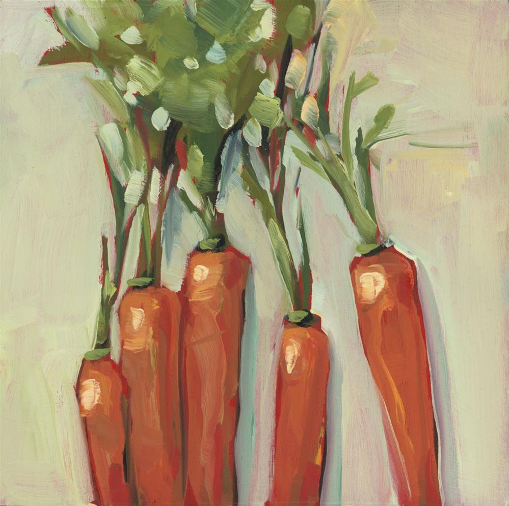 """""""1301: Carrot Tops"""" original fine art by Brian Miller"""
