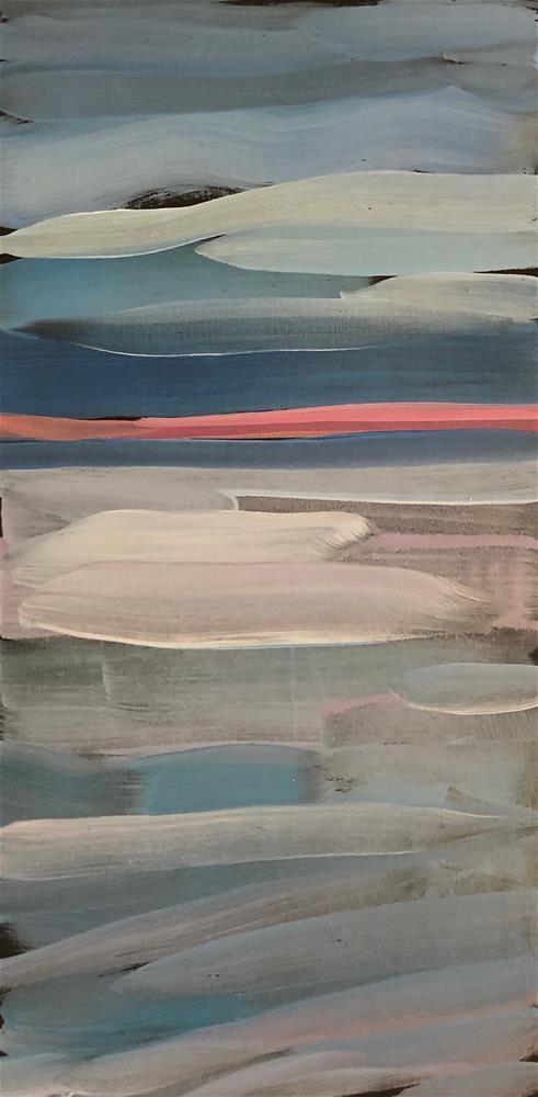 """""""The Pink Line"""" original fine art by Kat Corrigan"""