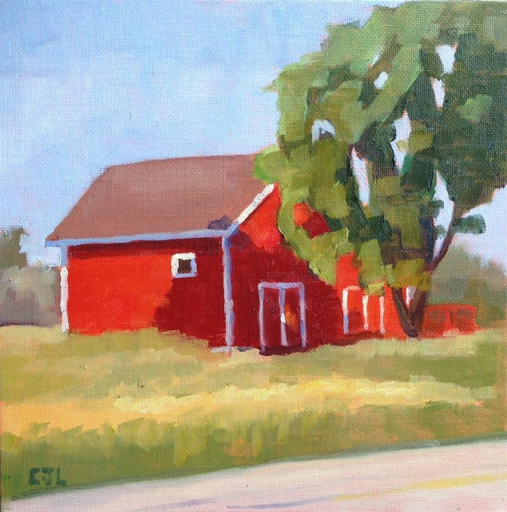 """""""Made in the Shade"""" original fine art by Eric Larson"""