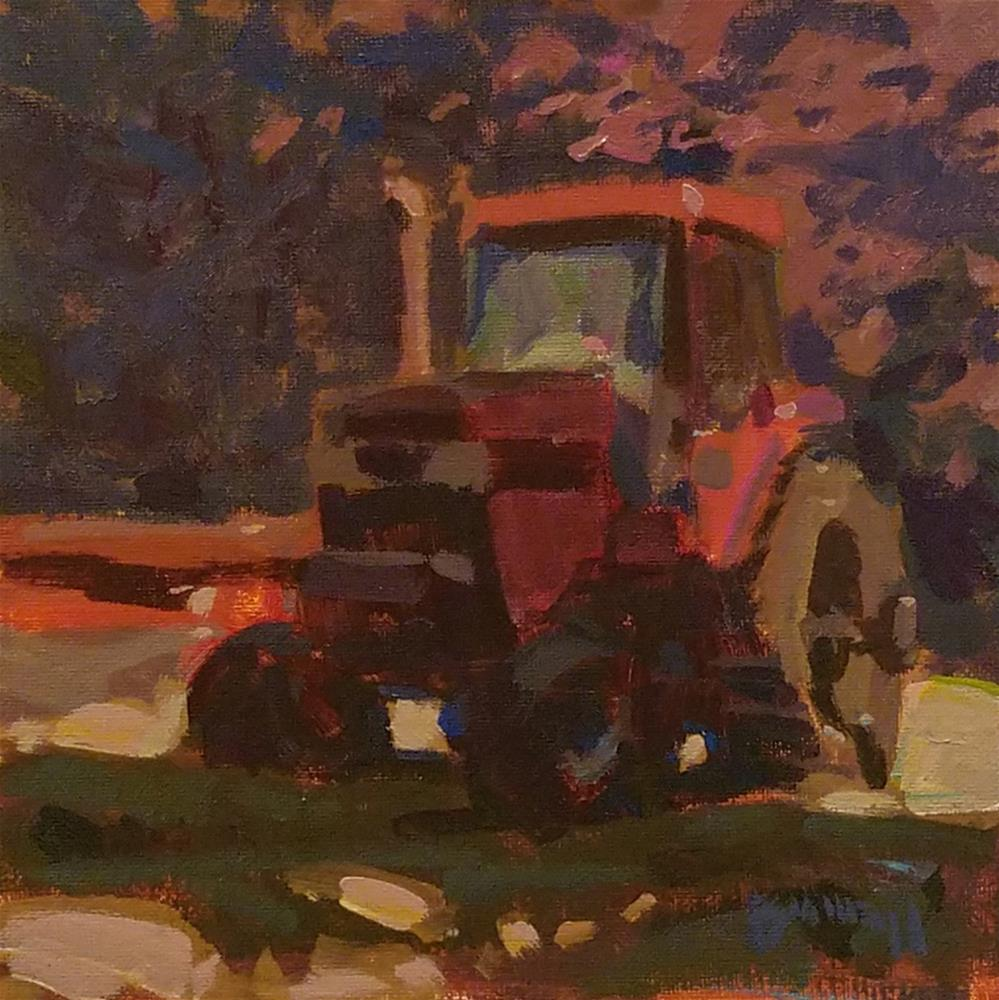 """""""Coming Around"""" original fine art by Roy Boswell"""