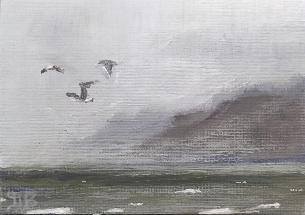 """Seascape"" original fine art by Gary Bruton"