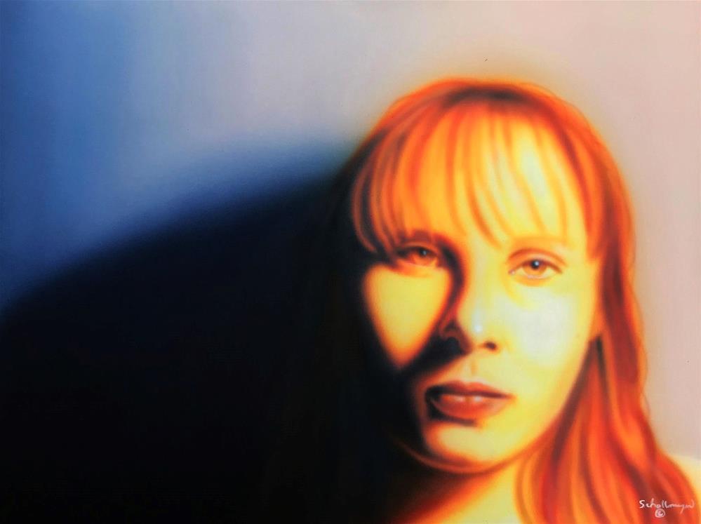 """""""Jessie # 4"""" original fine art by Fred Schollmeyer"""
