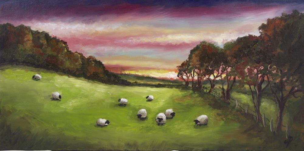 """Shepherds delight #2"" original fine art by Jane Palmer"