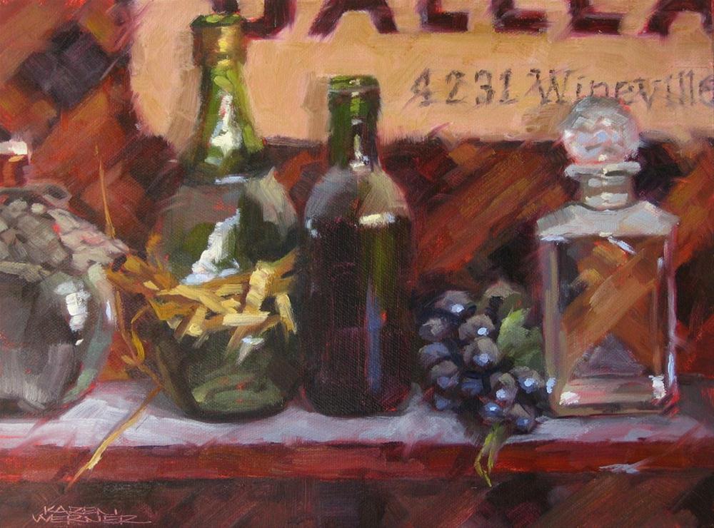 """""""Old & Dusty Galleano"""" original fine art by Karen Werner"""
