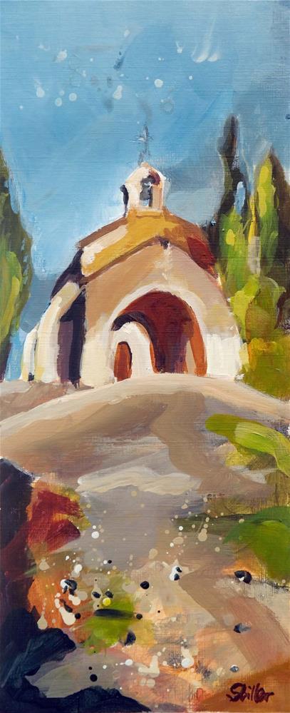 """""""1833 High Chapel 1"""" original fine art by Dietmar Stiller"""
