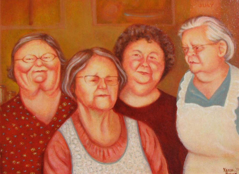 """Sunday Afternoon"" original fine art by Karen Roncari"