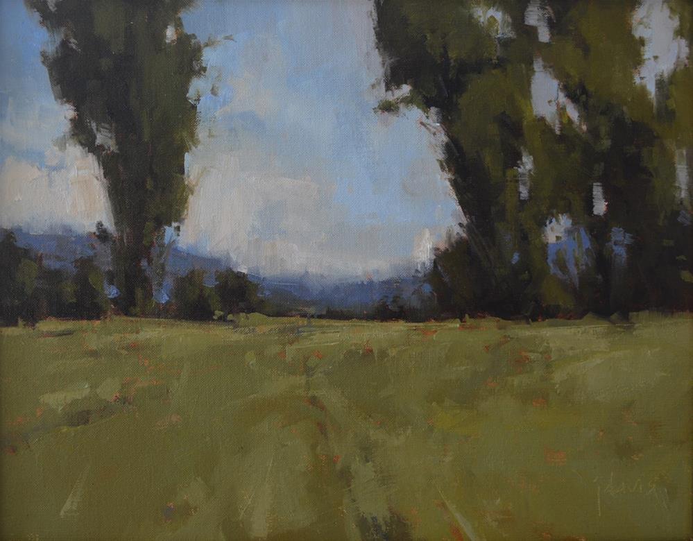 """Summer Show at Davis Gallery"" original fine art by Julie Davis"