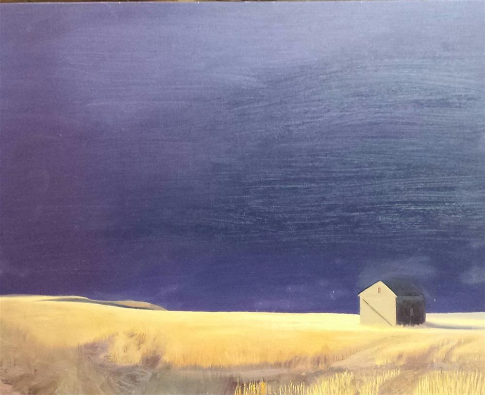 """""""Sky as Muse: Montana Storm"""" original fine art by Kim Homes"""
