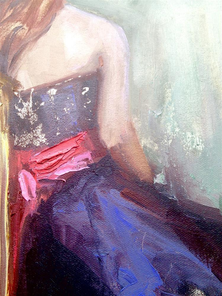 """Violet Crumble"" original fine art by Johanna Spinks"