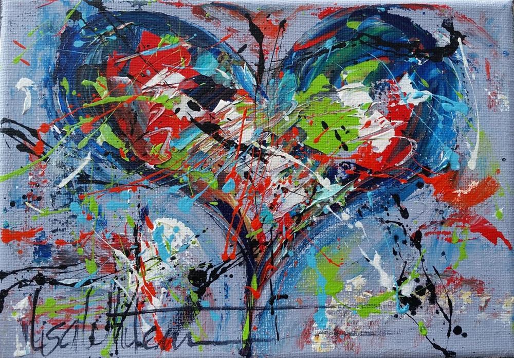 """86 - Trader"" original fine art by Lisa Rogers"