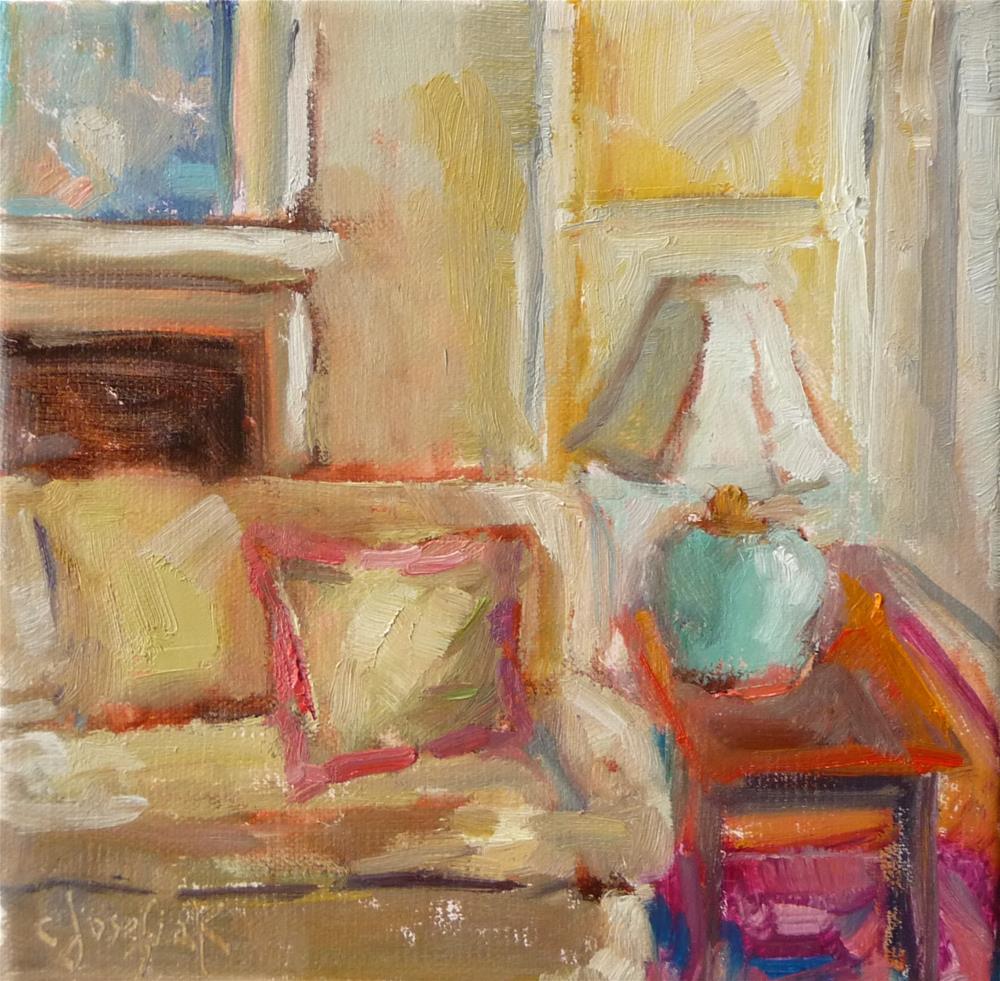 """Interior #3"" original fine art by Carol Josefiak"
