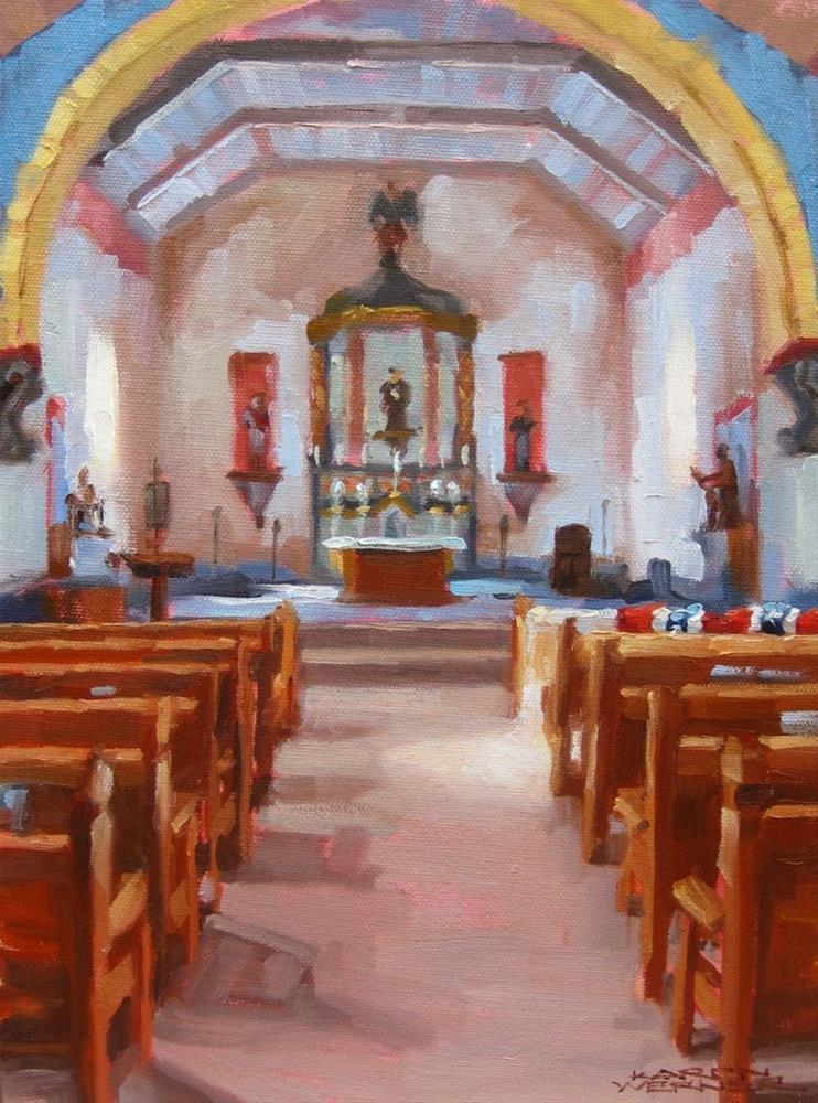 """Sanctuary"" original fine art by Karen Werner"