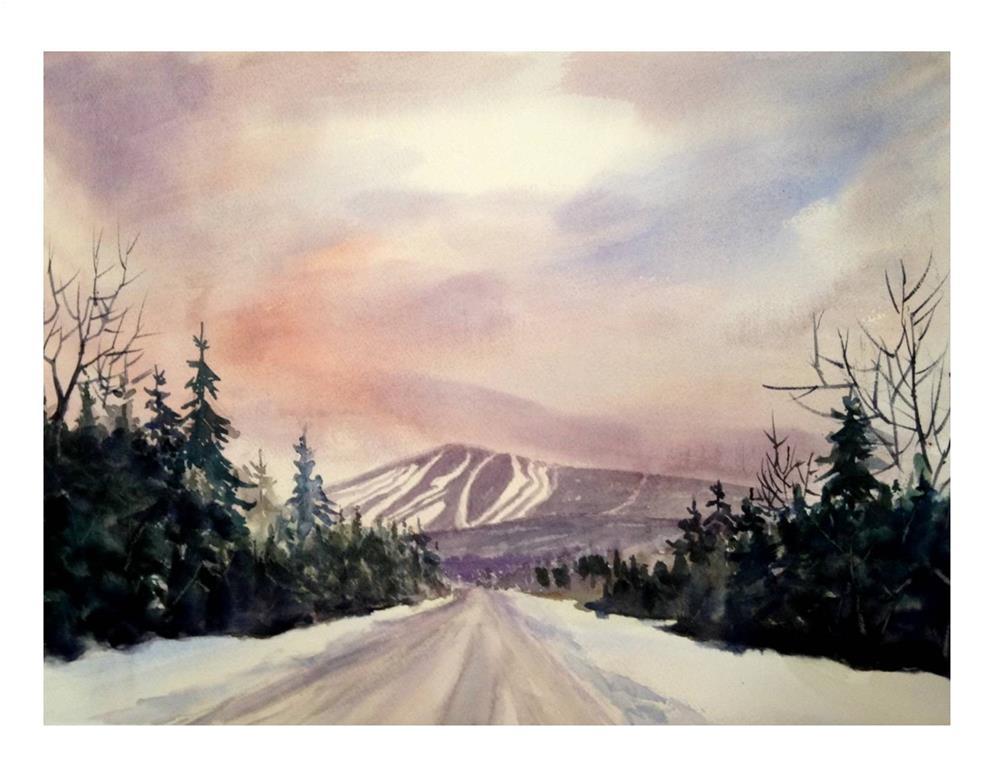 """Road to Sugarloaf"" original fine art by Suzanne Woodward"