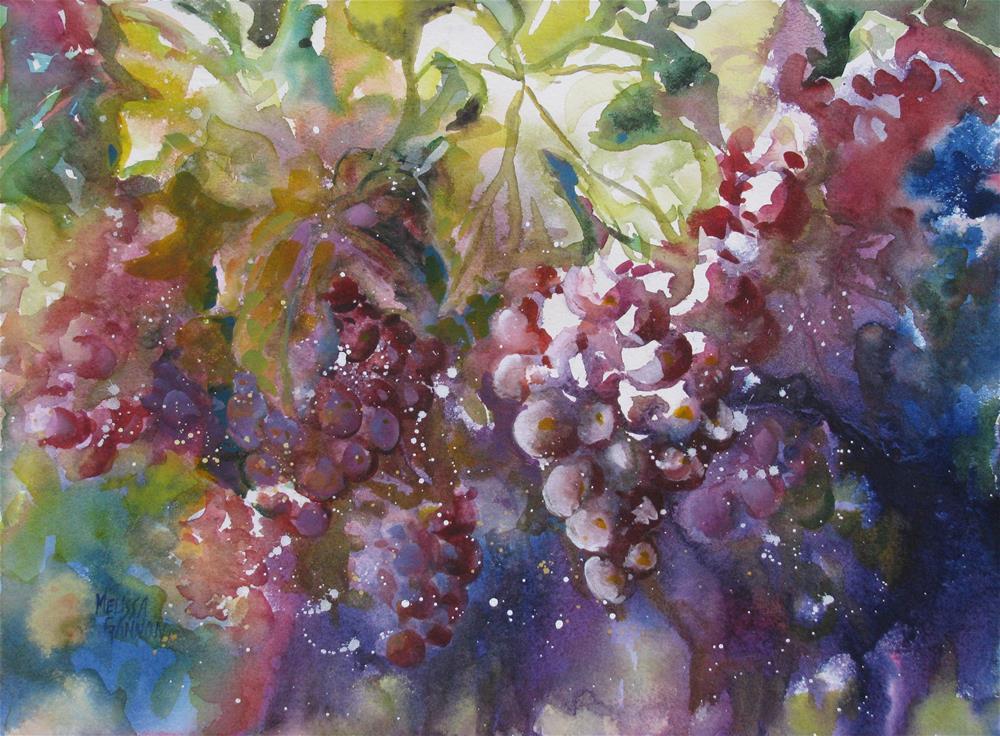 """Bountiful Harvest"" original fine art by Melissa Gannon"