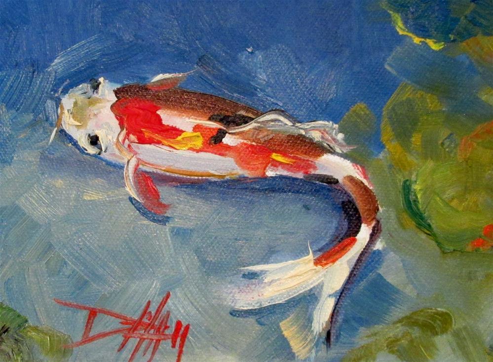 """Koi No. 6"" original fine art by Delilah Smith"