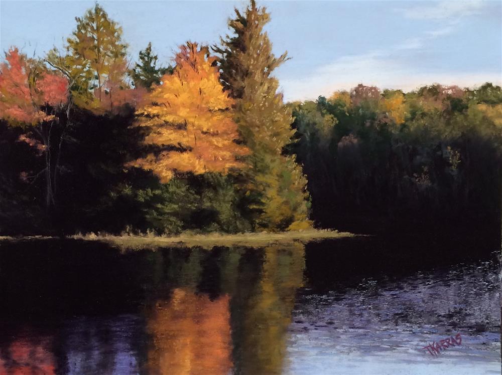 """""""Colors of Fall"""" original fine art by Christina Karras"""