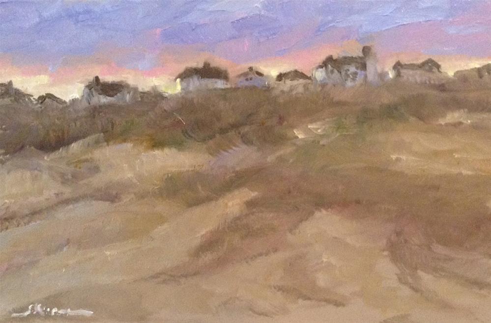 """""""End of the Day, Emerald Isle"""" original fine art by Shelley Koopmann"""