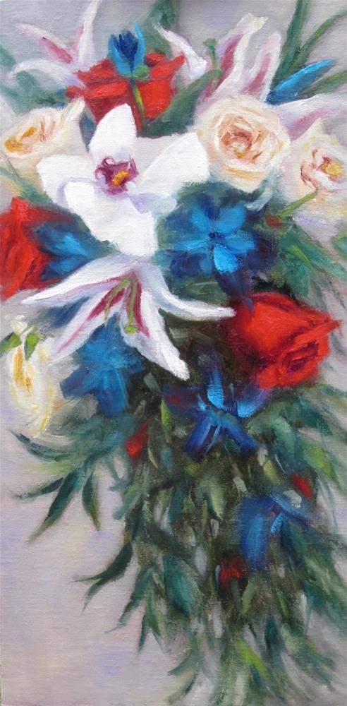 """""""Celebrate"""" original fine art by Pat Fiorello"""