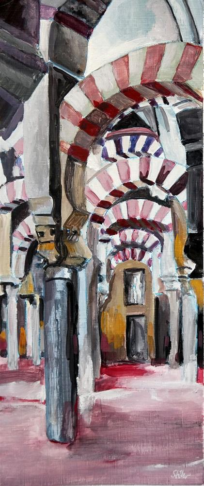 """2524 Cathedral Mosque"" original fine art by Dietmar Stiller"
