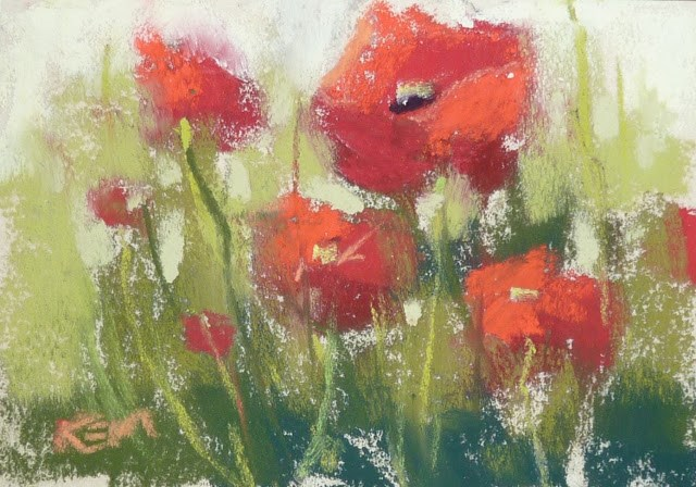 """It's Mini Week! How to Paint on the Go"" original fine art by Karen Margulis"
