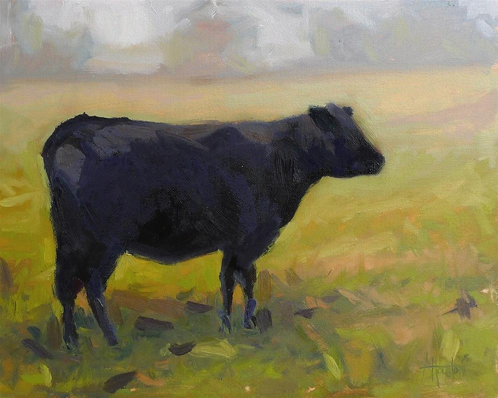 """""""In the Field"""" original fine art by Adam Houston"""
