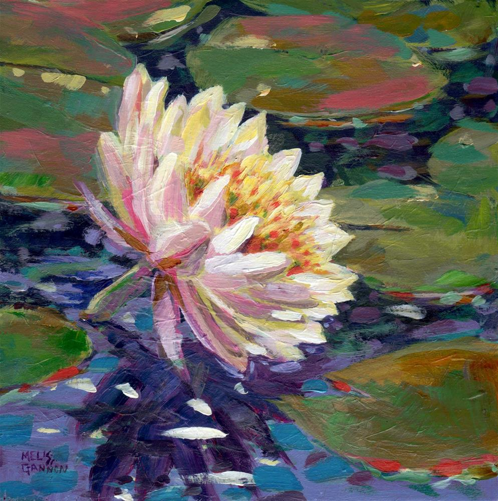 """Song of the Waterlily"" original fine art by Melissa Gannon"