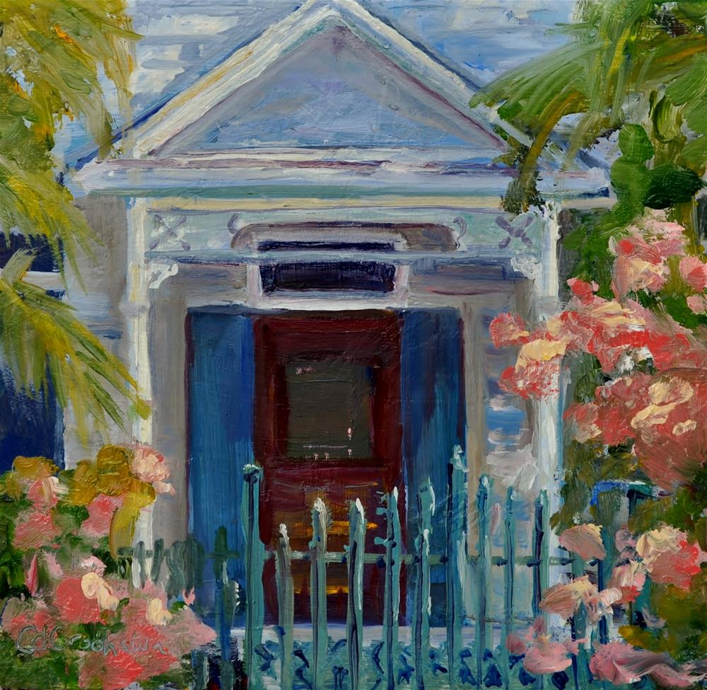 """""""Enter at the Gate"""" original fine art by Catherine Crookston"""