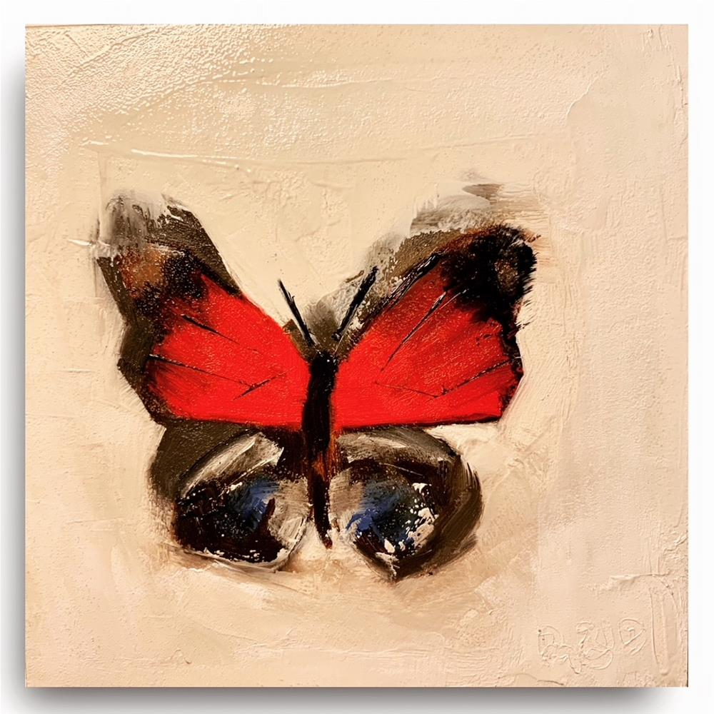 """798 PAPILLON"" original fine art by Jenny Doh"